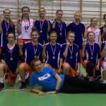 MUKS Piaseczno 2002, wygrywa drugi etap Międzyszkolnego Turnieju Koszykówki Dziewcząt.