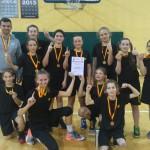 Zawodniczki MUKS 2004 zwyciężają w rozgrywkach międzypowiatowych szkół podstawowych!!