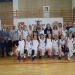 Pierwsze miejsce drużyny   Młodziczek U-14 K MUKS Piaseczno  w półfinale Mistrzostw Polski.