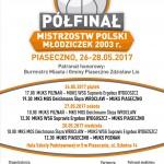 Półfinał Mistrzostw Polski Młodziczek U-14 K w Piasecznie.