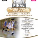 Finał Mistrzostw Polski Młodziczek U-14 K w Piasecznie.